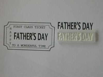 Ticket stamp option, Father's Day
