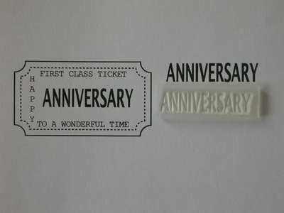 Ticket stamp option, Anniversary