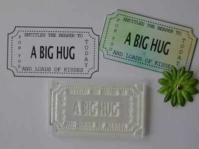 Ticket stamp, A Big Hug