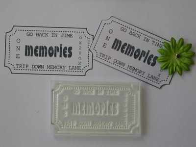 Ticket stamp, Memories
