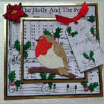 Holly Ivy topper kit