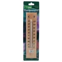 Traditional Wooden Thermometer - LRG - Indoor/Outdoor