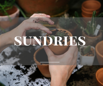 Garden accessories, sundries and tools