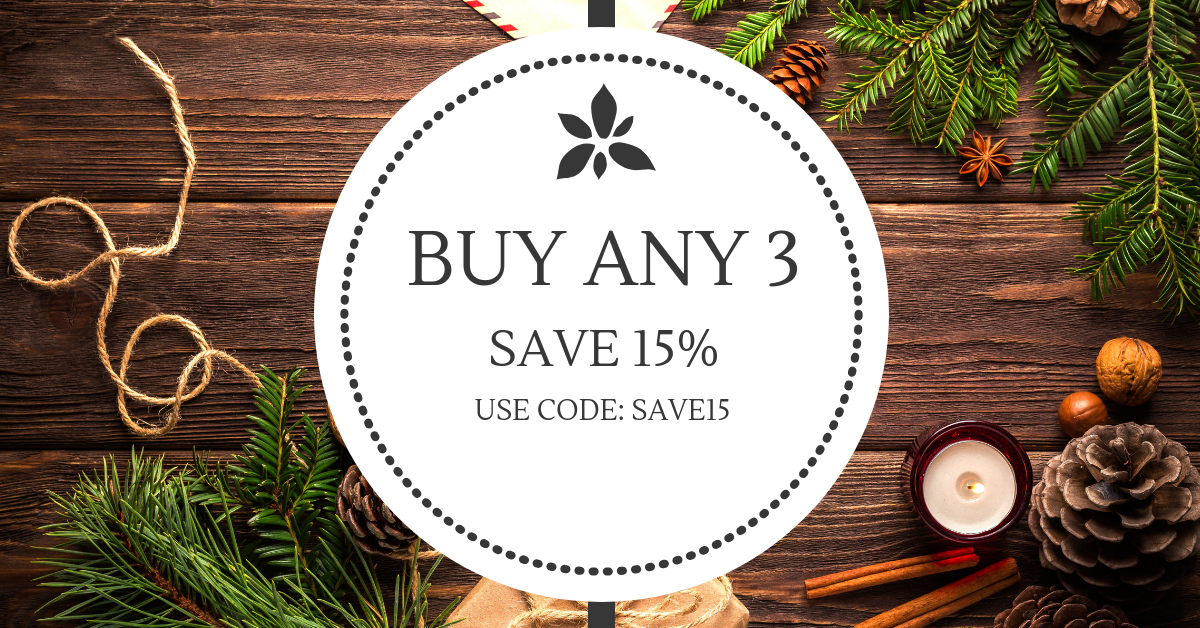 Save 15% off your order