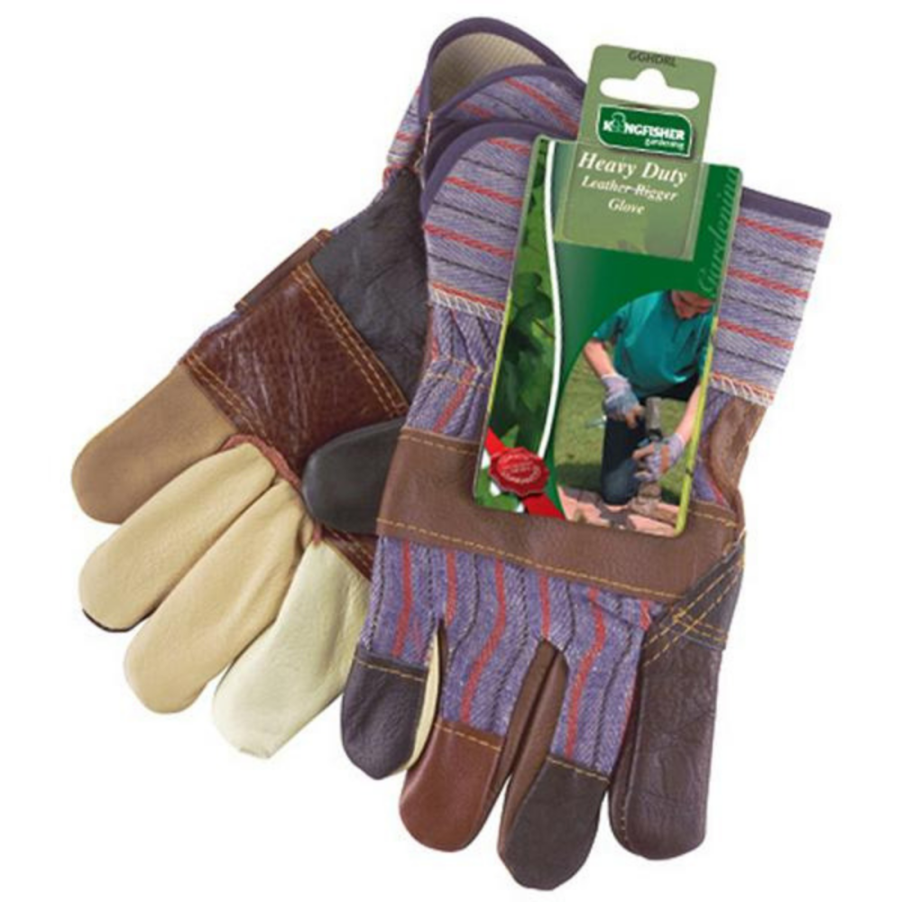 Gardening Heavy Duty Leather Gloves