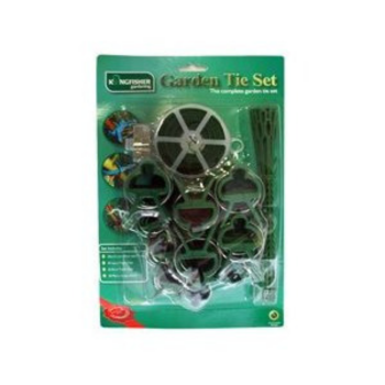 Kingfisher Garden Clip tie Set