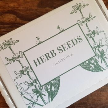 Herb seeds grow your own box ideal gift for birthday, fathers day, xmas [003]