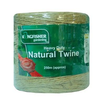Heavy duty natural twine 250m