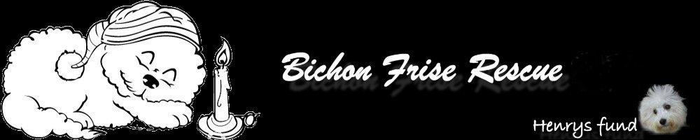 Bichon Frise Rescue, site logo.