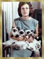 Ann Baker holding Kookie, Toy Sue & Kookie Tu 1966