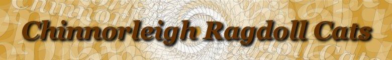 Chinnorleigh Ragdoll Cats, site logo.
