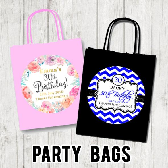 Party bags Shop