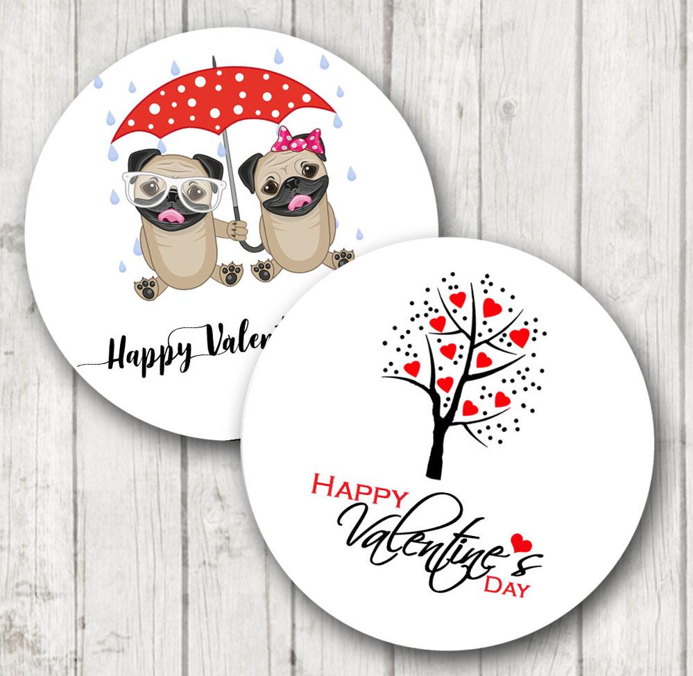 Valentines Day stickers