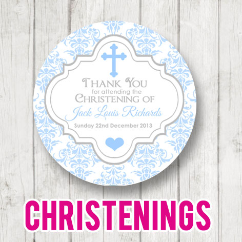 Christening & Baptism Stickers