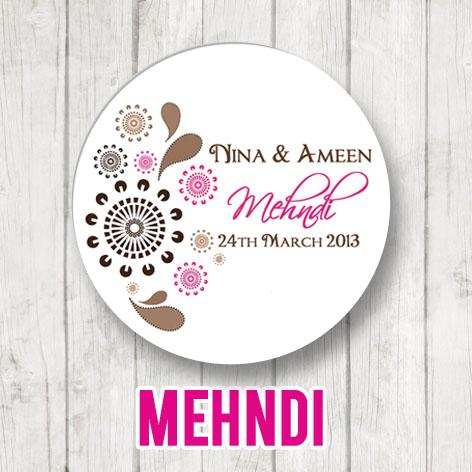 Mehndi Glitter Indian Wedding Celebrations
