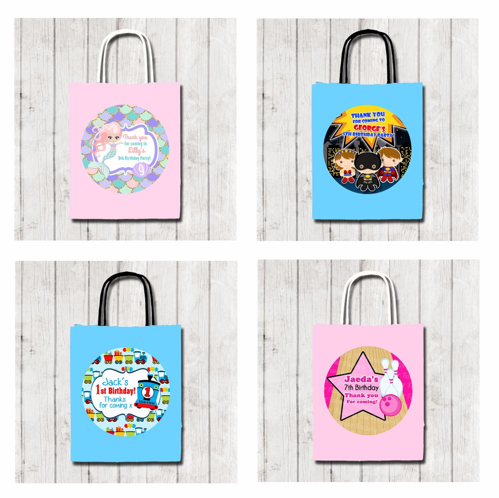 Childrens Birthday Party Bags