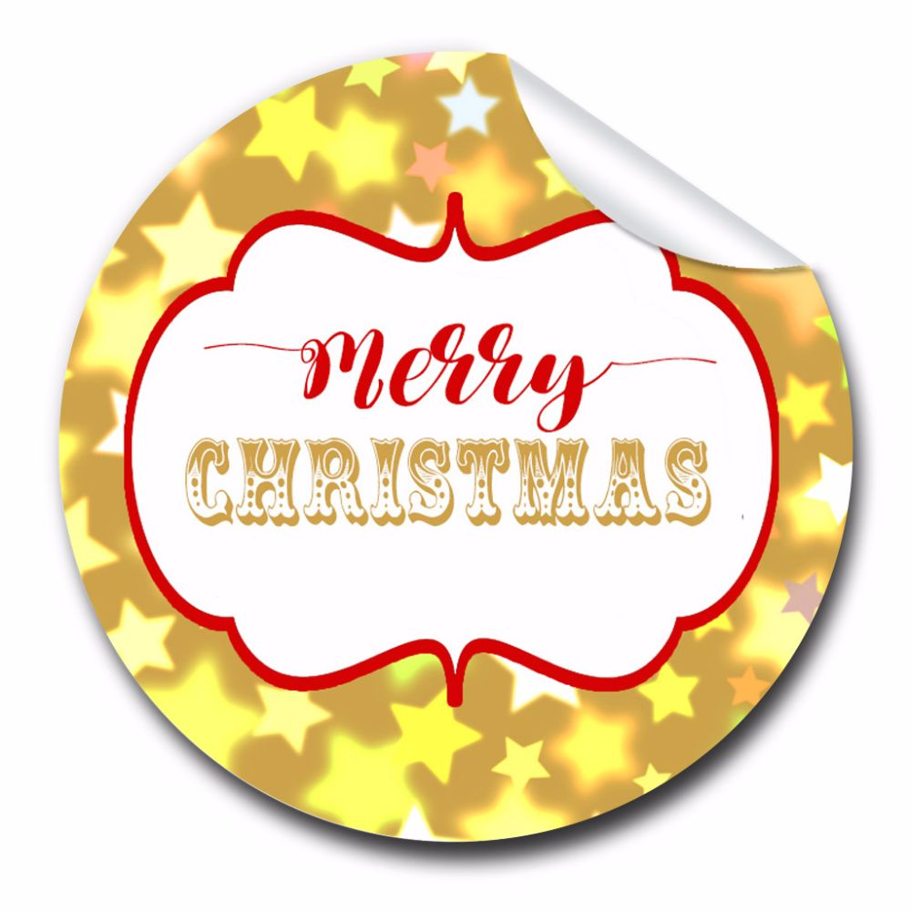 Personalised Christmas Gift Party Stickers labels