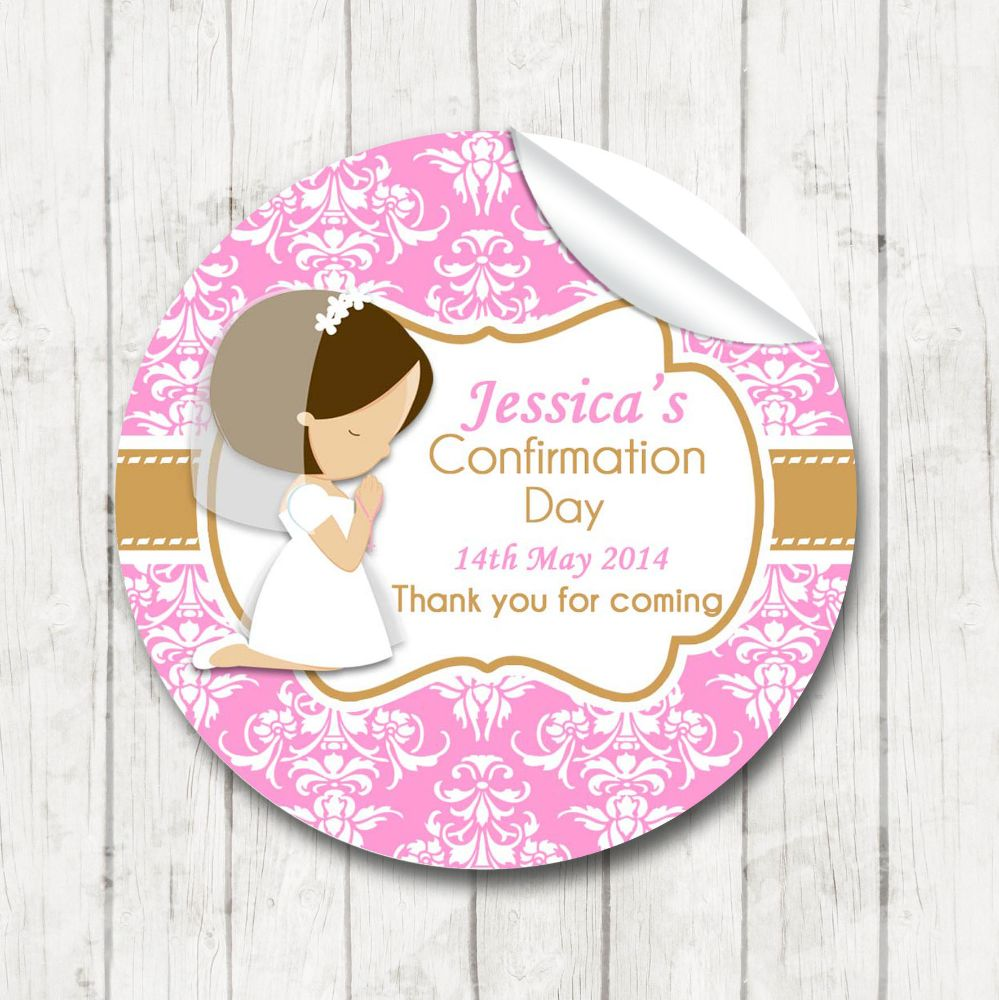 Personalised Holy Communion Stickers