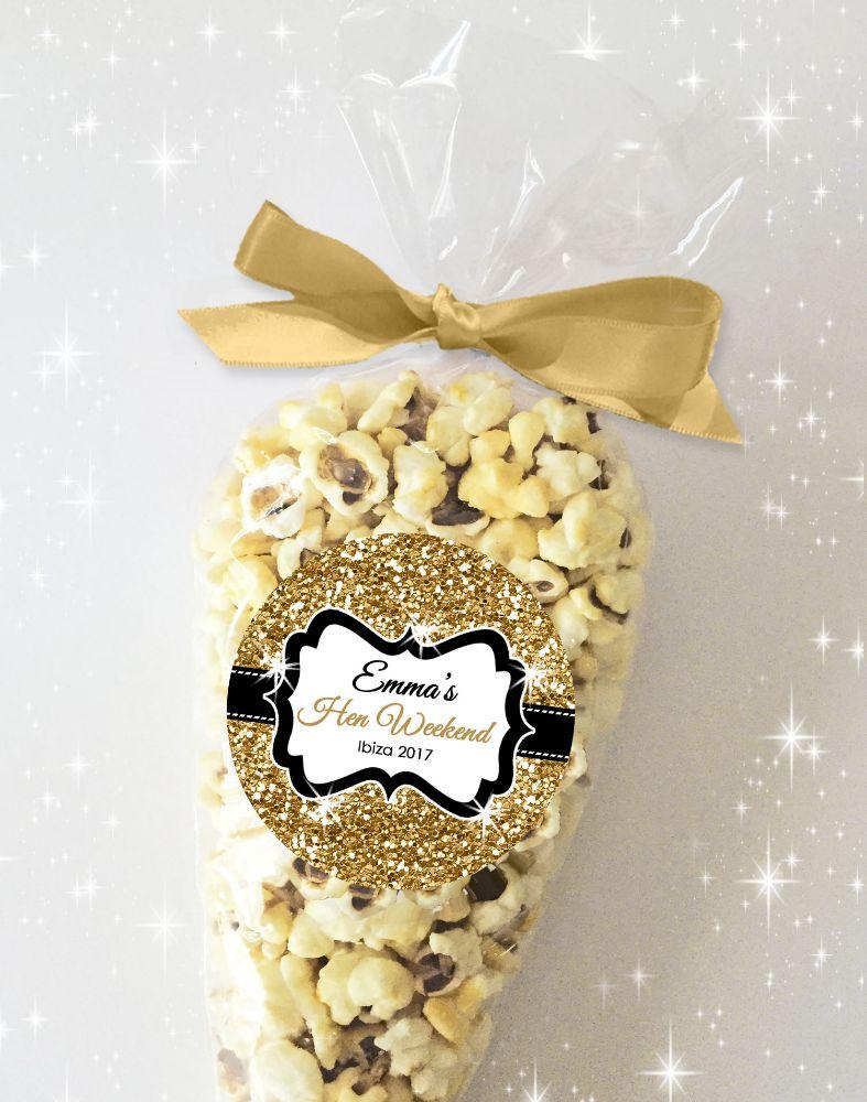 Hen Night Party Popcorn Sweet Cones Kits