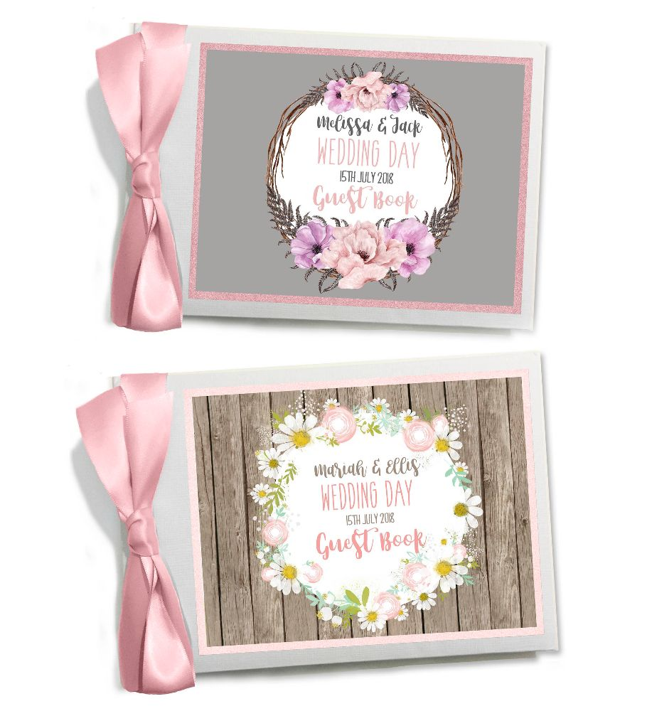 Wedding Day Guest Books