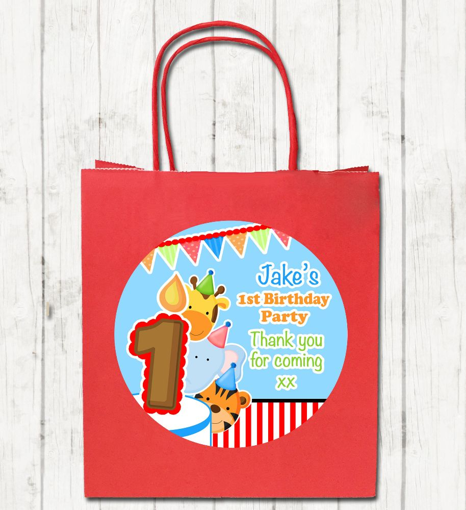 Children's Personalised Birthday Party Bags