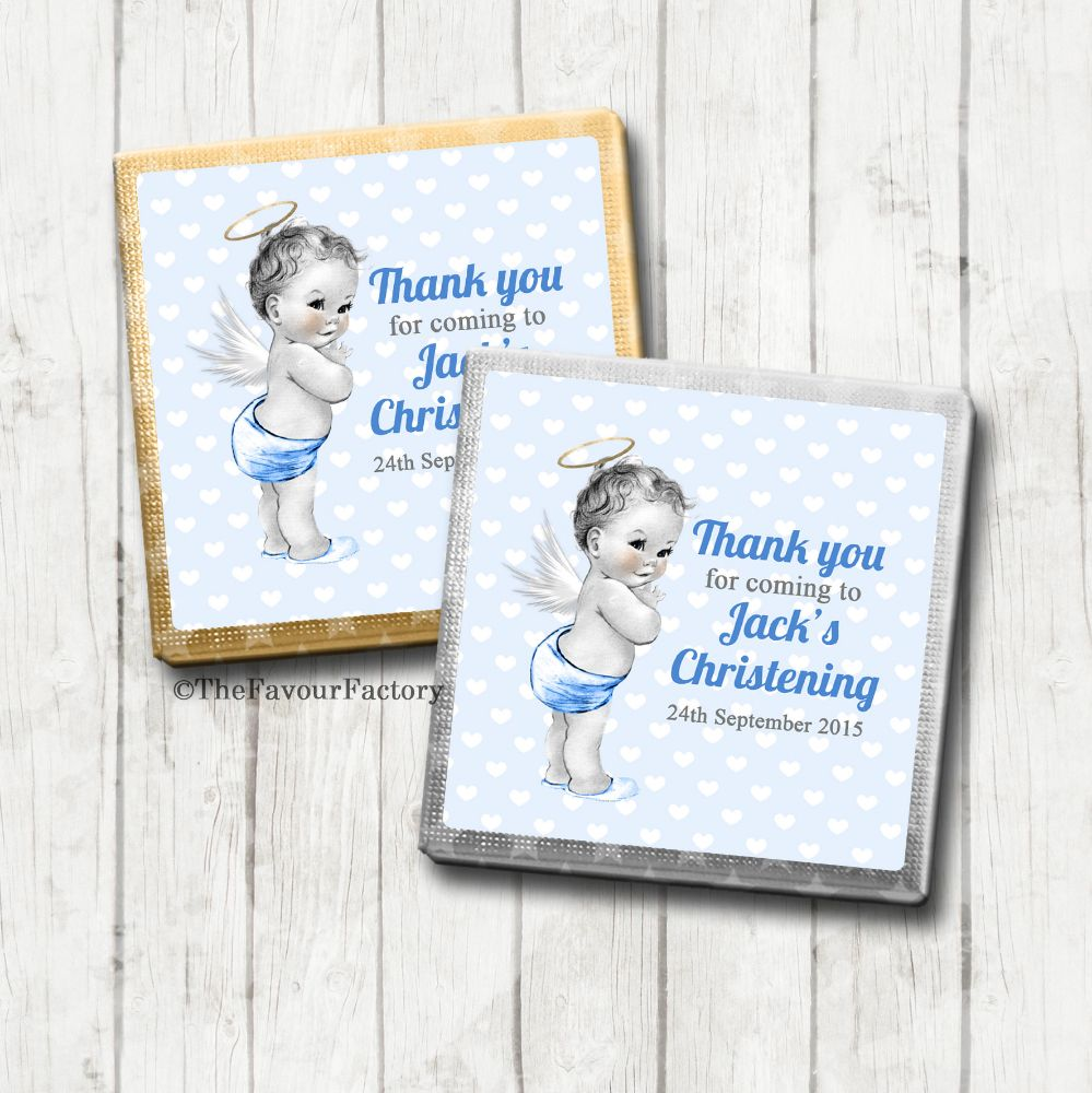 Christening Milk Chocolates