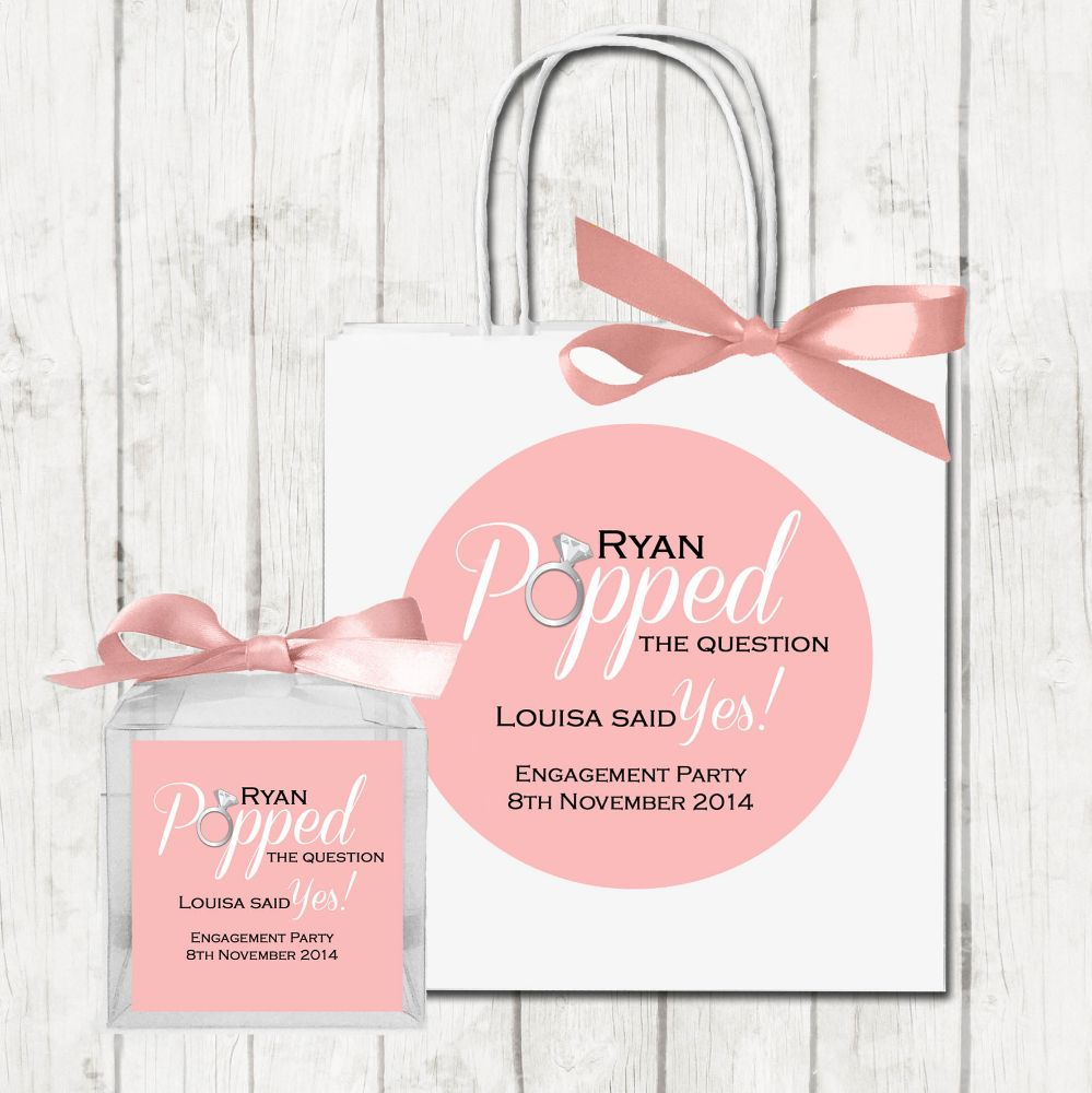 Engagement Party Bags
