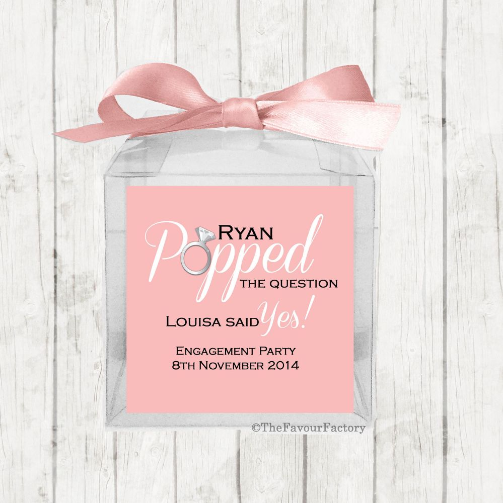 Engagement Party Sweet Boxes Kits