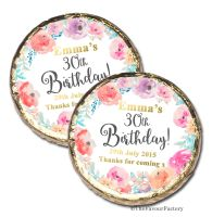 Emma Florals Personalised Birthday Party Mint Chocolates Favours x10