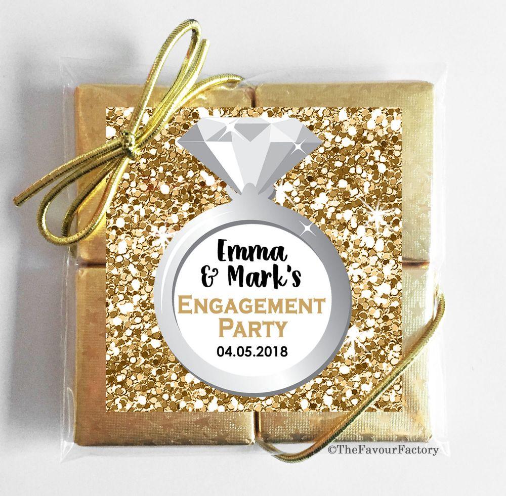 Engagement Chocolate Quads