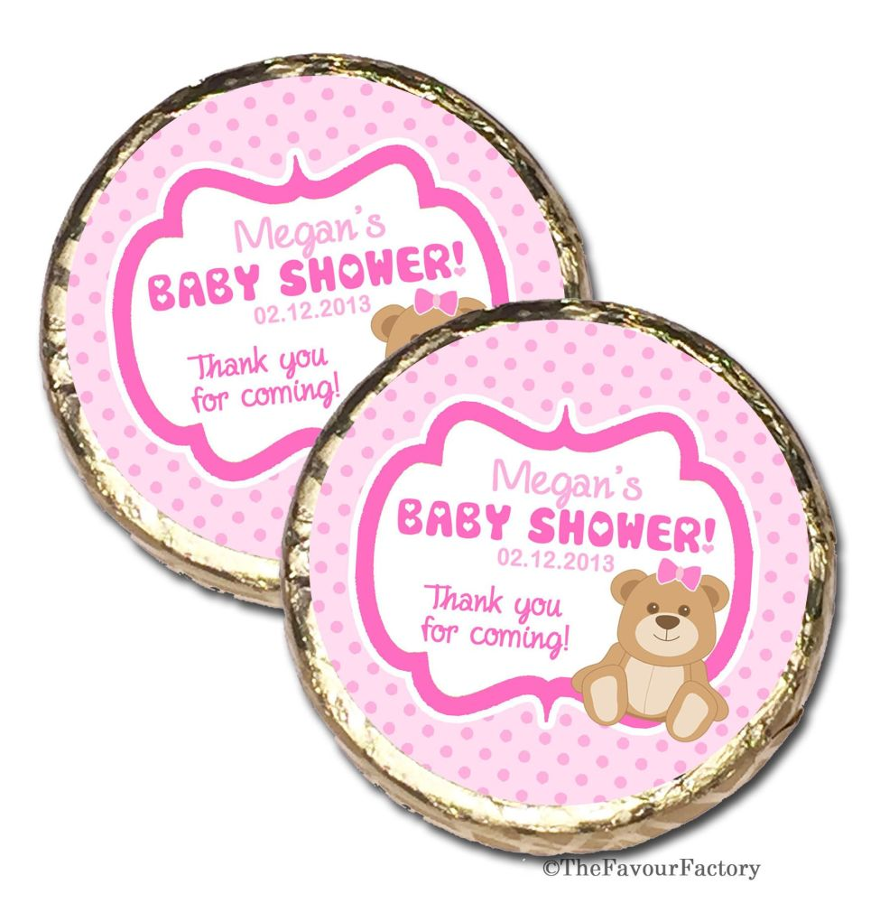 Personalised Baby Shower Welcoming Party Mint Chocolates x10