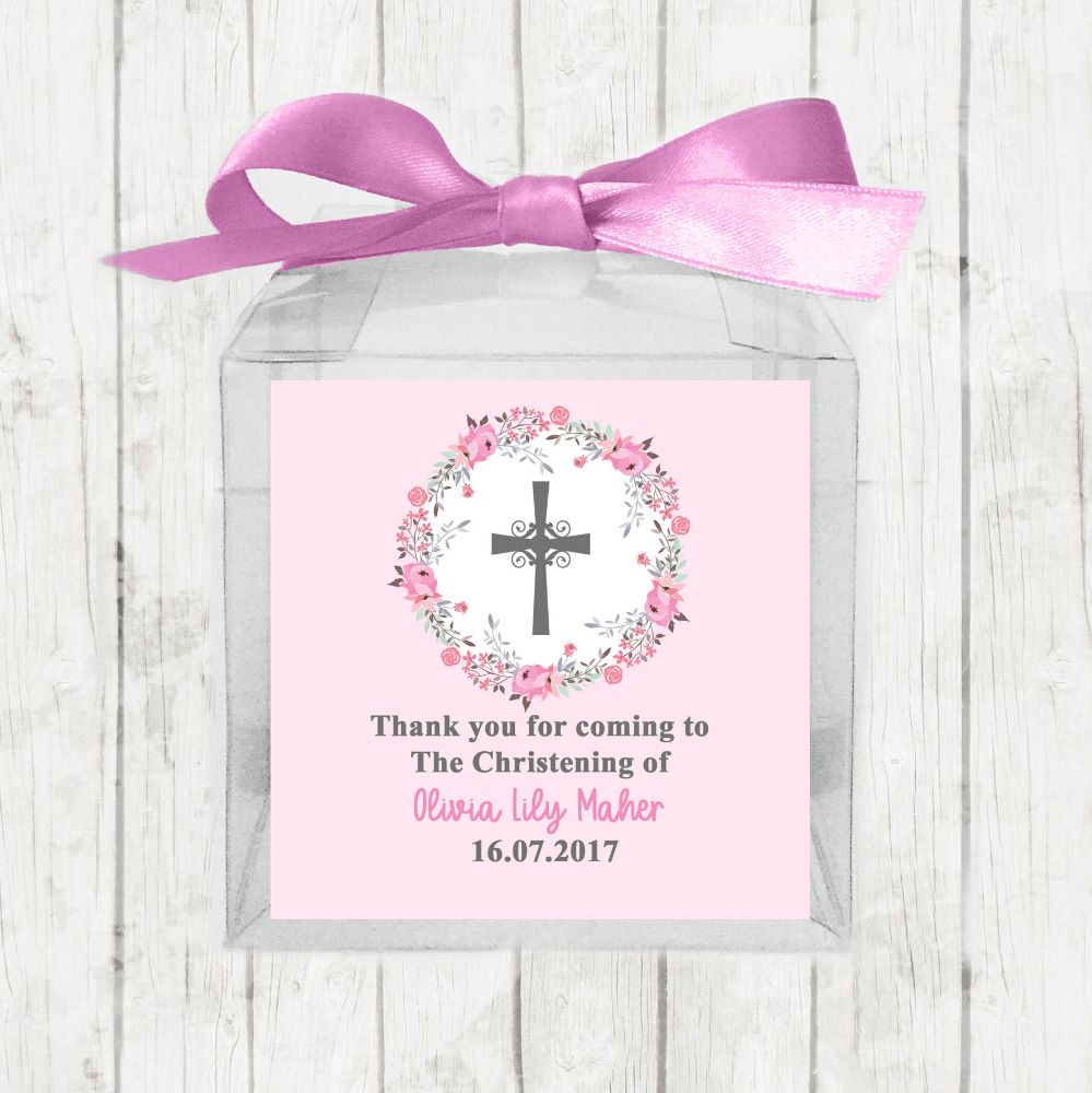 Personalised Christening Favour Boxes