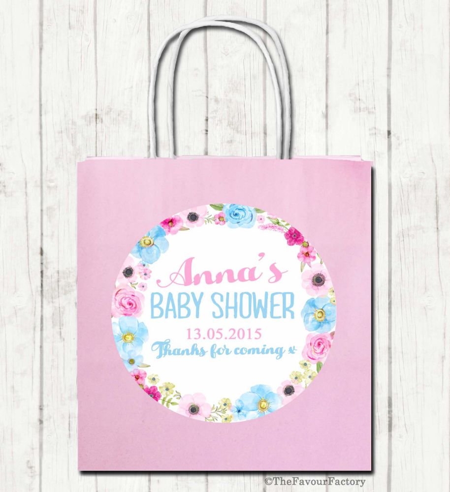 Personalised Baby Shower Party Bags