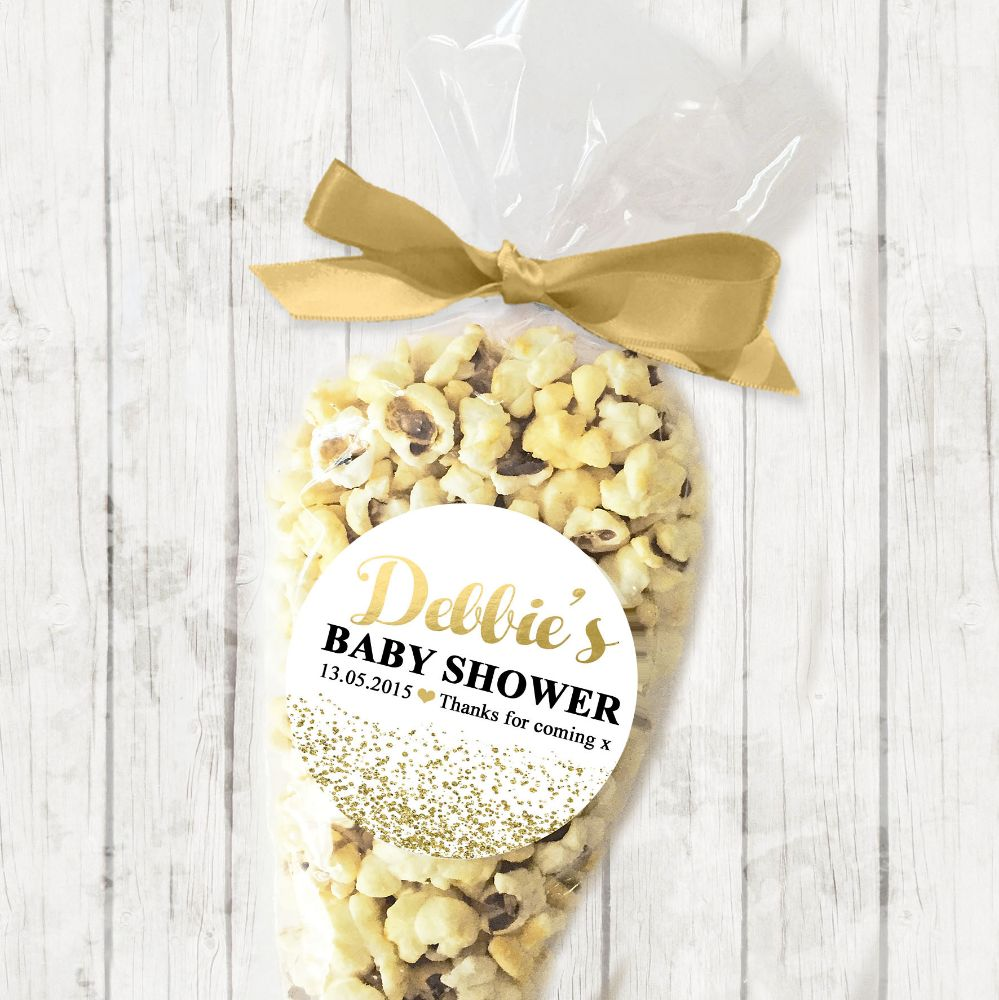 Baby Shower Sweets Popcorn Cone Kits