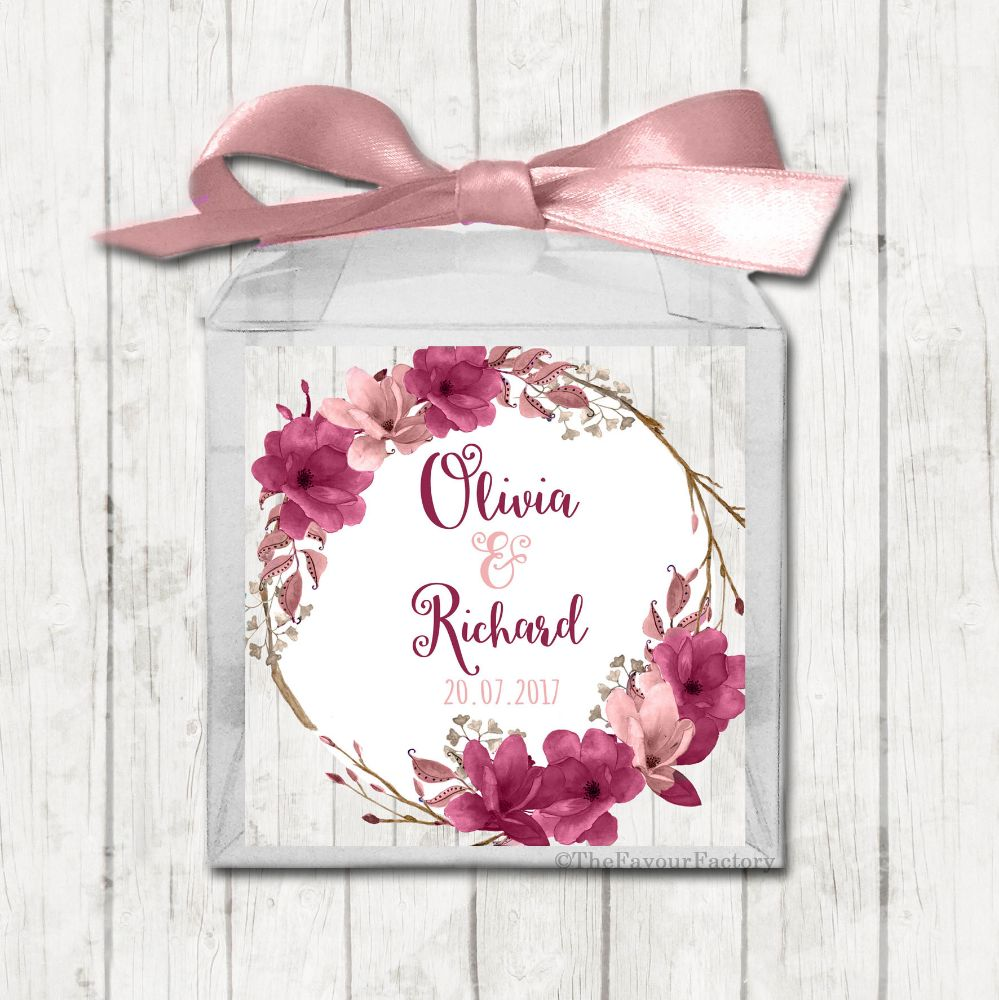 Wedding Day Sweet Boxes Kits