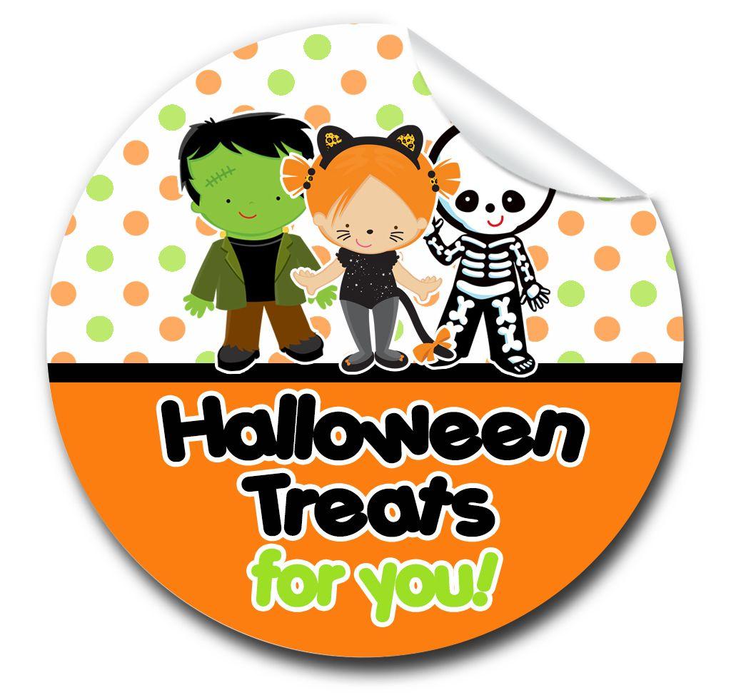 Halloween Stickers Dress Up Kids