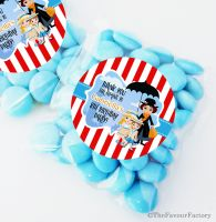 Mary Poppins Personalised BIRTHDAY party bags fillers sweet bags KITS x12