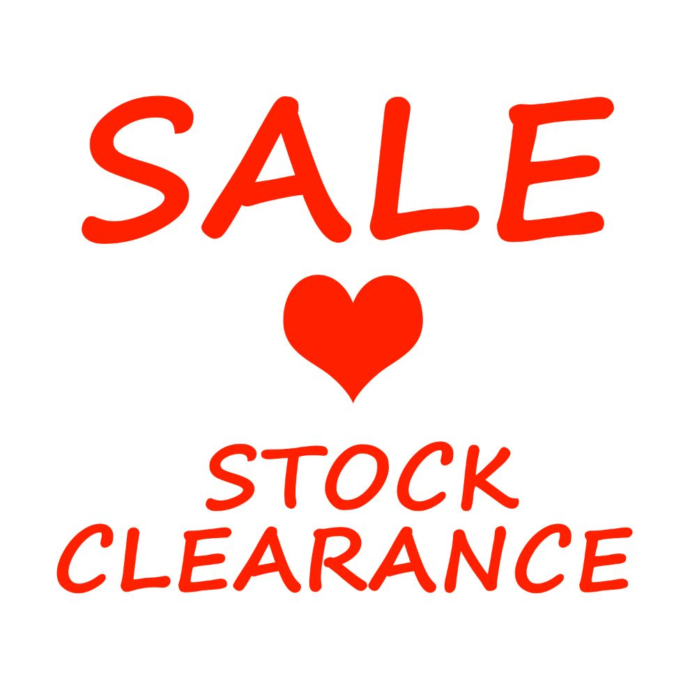 SALE items priced to clear!