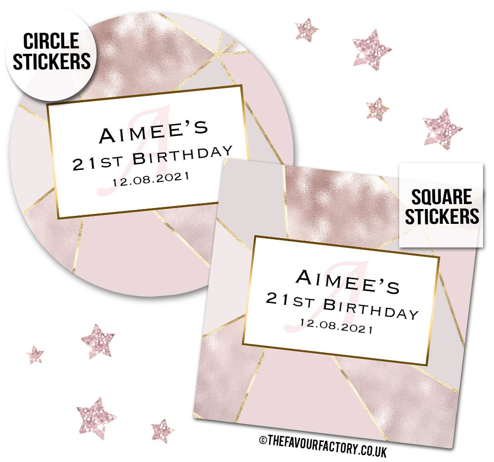 Personalised Birthday Stickers