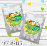 It's Been Dinomite End of Year Teacher Personalised Eco-Friendly Sweet Bags Kits x12