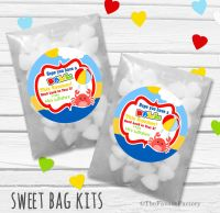 Have A Ball End of Year Teacher Personalised Eco-Friendly Sweet Bags Kits x12