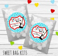 You Rocked End of Year Teacher Personalised Eco-Friendly Sweet Bags Kits x12
