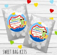 Toadally Cool Summer End of Year Teacher Personalised Eco-Friendly Sweet Bags Kits x12