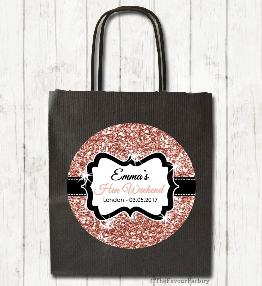 Personalised Hen Night Party Goody Bags x1