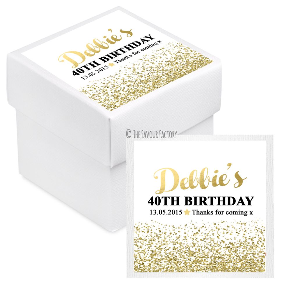 Birthday Party Favour Boxes