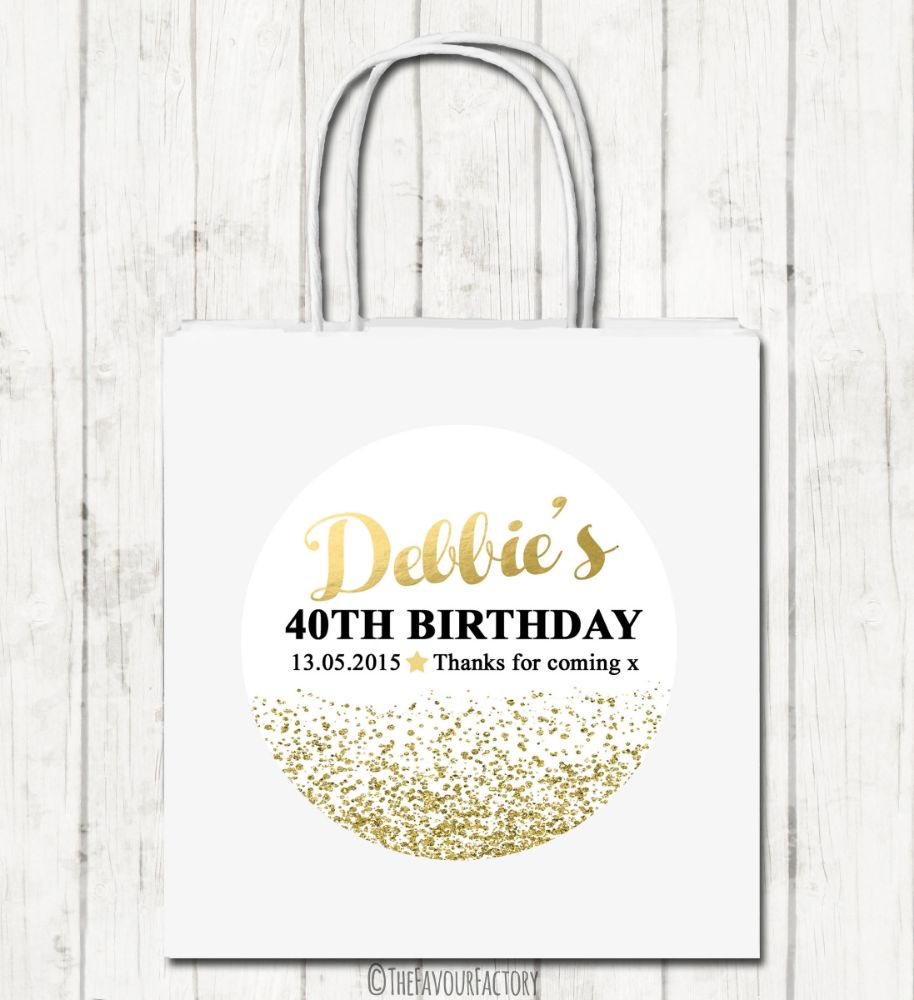 Adult Birthday Party Bags