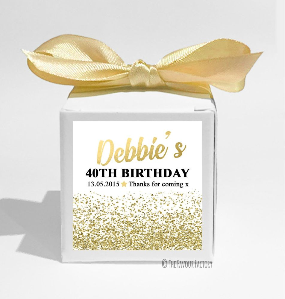 Personalised Birthday Party Favour Boxes KITS x1