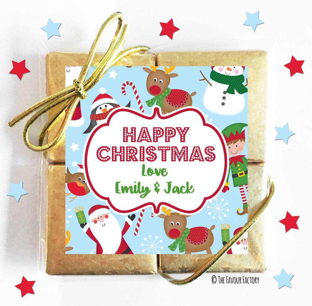 Christmas Chocolate Quads