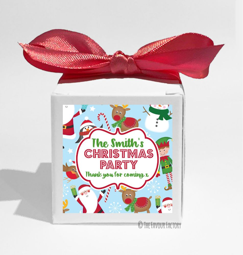 Luxury Christmas Favour Boxes