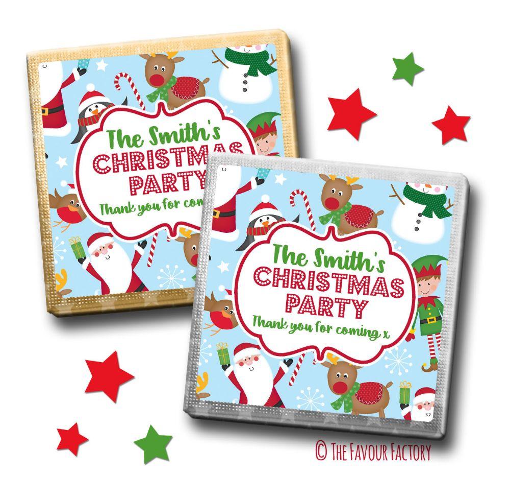 Christmas Chocolates Milk